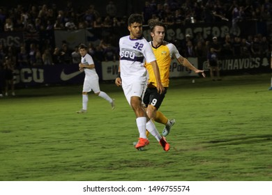 Ariel Aguas defender for the Grand Canyon University Lopes at GCU Stadium in Phoenix, Arizona/USA August 30,2019.