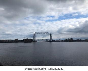 Ariel lift bridge in duluth MN