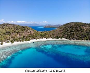 Ariel photo of Coco Beach, Coron, Philipines