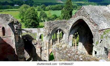 Ariel View, Melrose Abbey