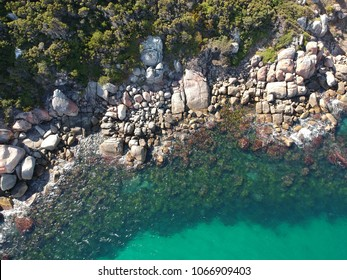 Ariel View of rock formations in Albany Western Australia