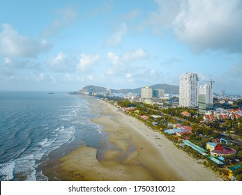 Ariel view of Vung Tau city