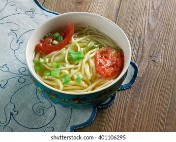 Arishta - Armenian soup with noodles