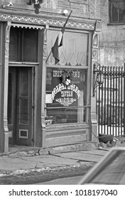 ARIZONA, CENTRAL CITY – SEPTEMBER 13,1979: Glory Hole tavern. Vintage picture taken in 1979.