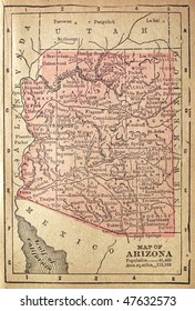 Arizona, circa 1880. See the entire map collection: http://www.shutterstock.com/sets/22217-maps.html?rid=70583