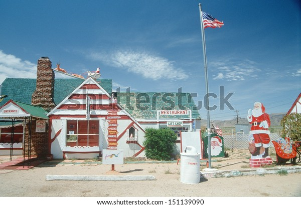 ARIZONA - CIRCA 1980's: Santa Claus Village themed restaurant, AZ
