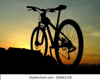 Arizona desert mountain biking