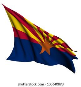 Arizona flag - USA state flags collection no_2