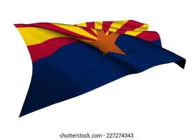 Arizona flag - USA state flags collection no_4