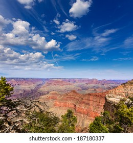 Arizona Grand Canyon National Park Mother Point and Amphitheater USA