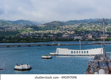 Arizona Memorial in Pearl Harbor