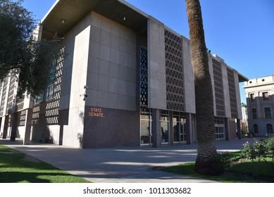 Arizona State Senate Building Phoenix Arizona 1/27/18