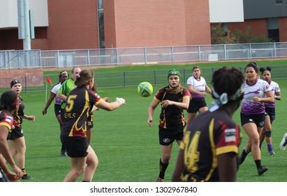 Arizona State University Rugby at GCU Stadium in Phoenix,AZ/USA 2,2,2019.