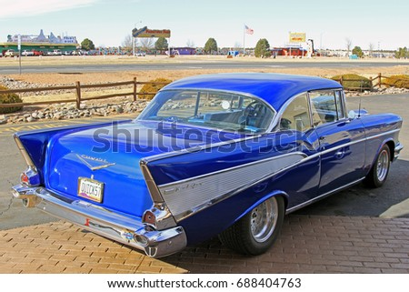 Arizona Usa Jan 20 2012 Chevrolet Stock Photo Edit Now 688404763
