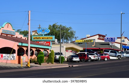 Arizona, USA - july 8 2016 : the city of Page created in 1957