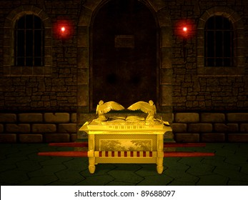 Ark of the Covenant from the Bible.