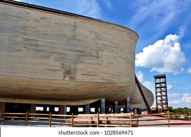 Ark Encounter - Simulation of Noah's Vessel at Kentucky USA