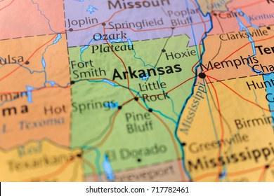 Arkansas Map Images, Stock Photos & Vectors | Shutterstock