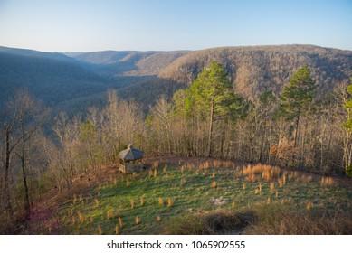 Arkansas Ozark Mountain View With Gazebo