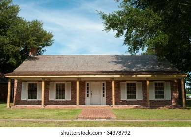 Arkansas Post National Memorial building