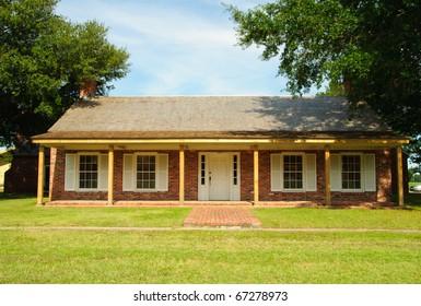 Arkansas Post State Park recreated building