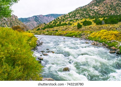 Arkansas River in Colorado - Outside of Salida on HWY 50