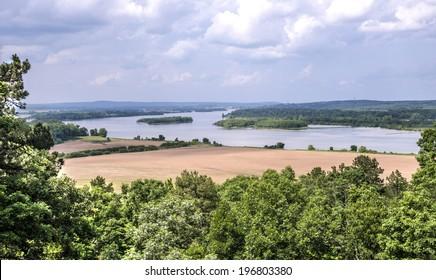 Arkansas river near Little Rock