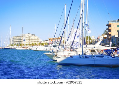 Arkas Aegean Link Regatta at port of Chios 25/8/2017