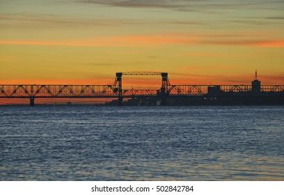 Arkhangelsk Bridge Northern Dvina River