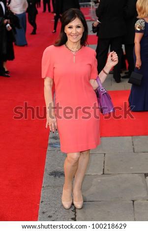 Arlene Phillips Arrives Olivier Awards 2012 Stock Photo Edit Now