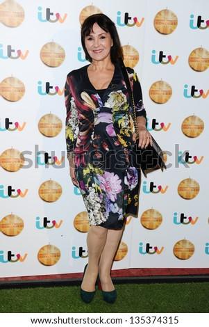 Arlene Phillips Arriving British Animal Honours Stock Photo Edit