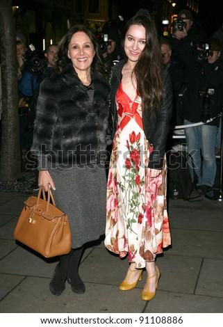 Arlene Phillips Daughter Abi Arriving English Stock Photo Edit Now