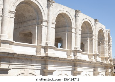 The Arles Amphitheatre is a Roman amphitheater in the southern French town of Arles