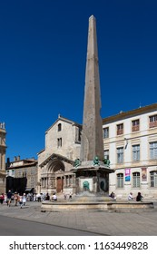 Arles. France. 06.16.12. The Palace de Republique in the Plaza de la Republique in the town of Arles in the Provence region of the South of France.