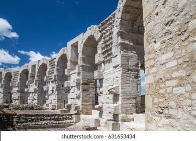 Arles France, ancient roman arena