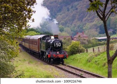 Arley Station, Severn Valley Railway, Worcestershire, UK