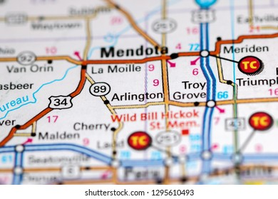 Arlington Map Stock Photos Images Photography Shutterstock