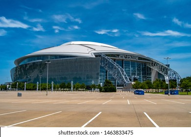 Arlington Texas USA July 21,2019 the home of the NFL Dallas Cowboys is the ATT Stadium.