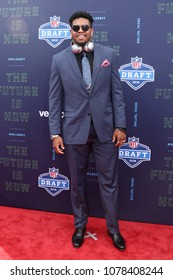 ARLINGTON, TX - Marcus Davenport attends the 2018 NFL Draft at AT&T Stadium on April 26, 2018 in Arlington, Texas.