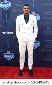 ARLINGTON, TX - Minkah Fitzpatrick attends the 2018 NFL Draft at AT&T Stadium on April 26, 2018 in Arlington, Texas.