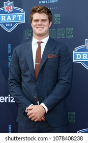 ARLINGTON, TX - Sam Darnold attends the 2018 NFL Draft at AT&T Stadium on April 26, 2018 in Arlington, Texas.