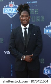 ARLINGTON, TX - Shaq Griffin attends the 2018 NFL Draft at AT&T Stadium on April 26, 2018 in Arlington, Texas.