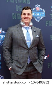 ARLINGTON, TX - Taven Bryan attends the 2018 NFL Draft at AT&T Stadium on April 26, 2018 in Arlington, Texas.