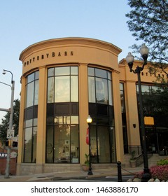 Arlington, Va./USA-7/28/19: A Pottery Barn store in the Clarendon shopping district of Arlington, outside Washington, D.C.