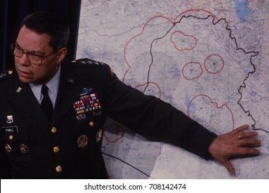 Arlington, Virginia, USA, 24Th January, 1991