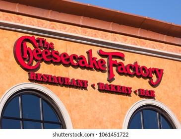 ARLINGTON, VIRGINIA, USA - FEBRUARY 24, 2009: Cheesecake Factory restaurant