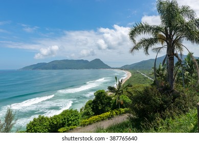 Armacao beach in Florianopolis, Santa Catarina, Brazil. One of the main tourists destination in south region.