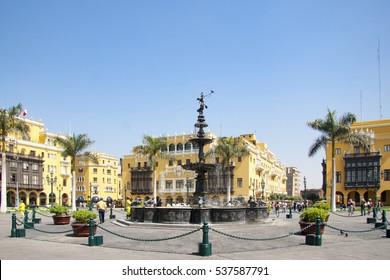 Armas square,Lima