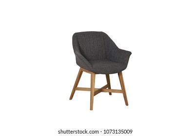 The armchair isolated on white background.