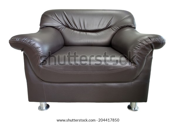 armchair isolated on white background with clipping path.